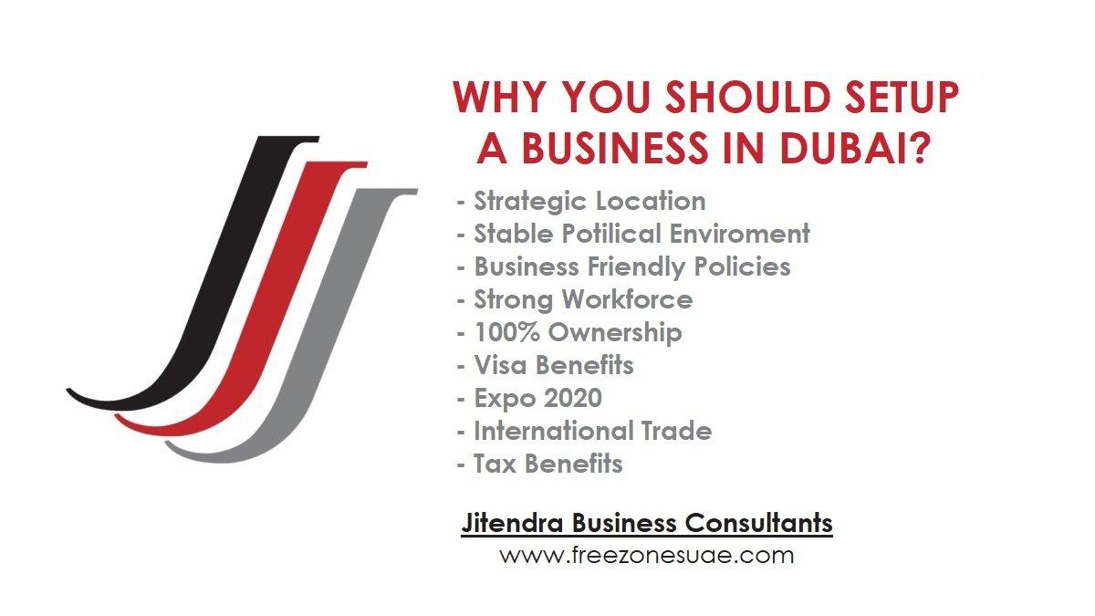 Why Should You Setup a Business in Dubai?