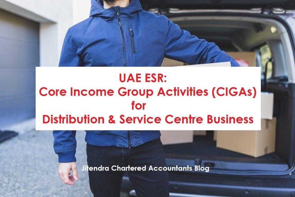 CIGAs for distribution & service centre business
